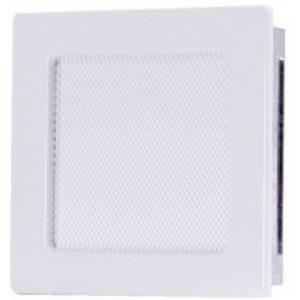 Вентиляционная решетка белая 17х17 мм