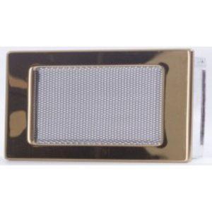 Вентиляционная решетка золото 11х17 мм