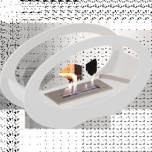 Биокамин Kratki Echo, белый
