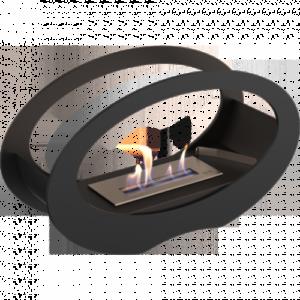 Биокамин Kratki Echo, черный