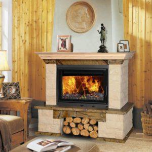 Продажа дровяного камина для дома и дачи